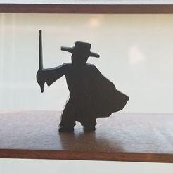 Download free 3D printing templates Zorro Meeple, Ellie_Valkyrie