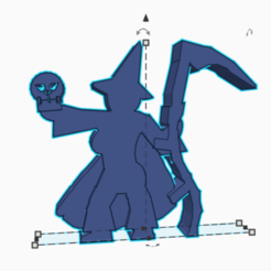 Scythe skull wizardess.png Download STL file Scythe Skull Wizardess • 3D printing design, Ellie_Valkyrie