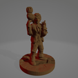 Owl Lodge Occultist.png Download STL file Owl Lodge Occultist (Support-Free) • Model to 3D print, Ellie_Valkyrie
