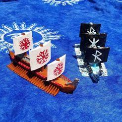 Download free 3D print files Skidbladnir / Naglfar For Ortus Novae: Trireme, Ellie_Valkyrie