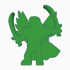 Descargar modelos 3D para imprimir Valquiria/Caballero de ángel con doble sable, Ellie_Valkyrie