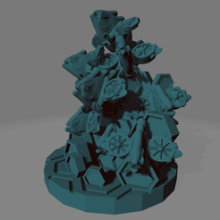 Cyber_Pirahna_Swarm.png Download free STL file Swarm of Cyber Piranhas • Template to 3D print, Ellie_Valkyrie