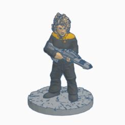 Dread_Security_Rifle.png Télécharger fichier STL gratuit Fusil à phaseur Femme • Plan pour impression 3D, Ellie_Valkyrie
