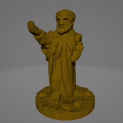 Masc Philosopher.png Download STL file Support-Free Philosopher • 3D printable template, Ellie_Valkyrie
