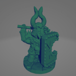 Surt Sworn Sun Shield Knight Render.png Download STL file Surt-Sworn Star-Knight With Club • 3D printable object, Ellie_Valkyrie