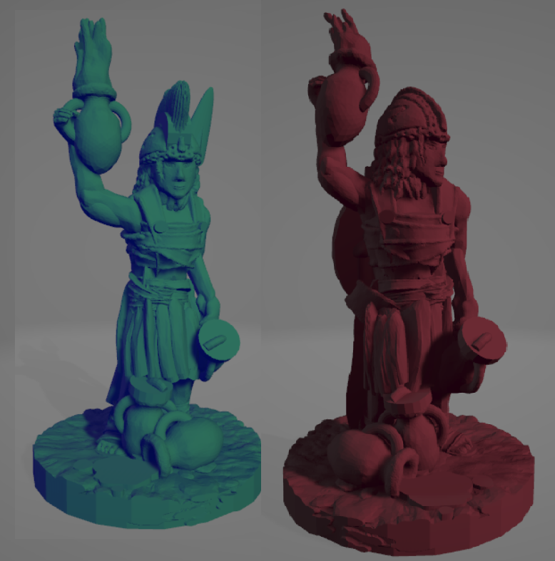 Greek Fire Amazons.png Download STL file Support-Free Amazon Hoplite Greek Fire Throwers • 3D printer model, Ellie_Valkyrie