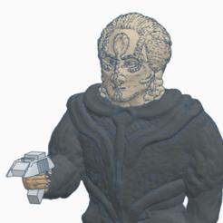 Cardassian_Closeup.png Télécharger fichier STL gratuit Cardassien avec pistolet • Modèle pour impression 3D, Ellie_Valkyrie