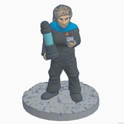 Tess_Sci_Cyl.png Download free STL file Star Trek Female Science Officer • 3D print template, Ellie_Valkyrie