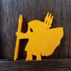 20201117_100259.jpg Download STL file Heavy Cloaked Javelineer • 3D printable template, Ellie_Valkyrie