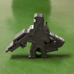 Knight With Rifle and Briefcase Meeple.png Download STL file Knight Meeple With Rifle and Briefcase • 3D print template, Ellie_Valkyrie