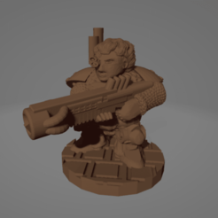 Femme Sonic Dwarf.png Download STL file Sonic Rifle Femme Space Dwarf • 3D printer object, Ellie_Valkyrie