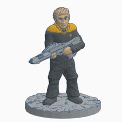 Vulcan_Starfleet_Security_Officer.png Download free STL file Vulcan Starfleet Security Officer • Design to 3D print, Ellie_Valkyrie