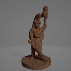 The Owl Bearer.png Download STL file The Owl Bearer • 3D printing template, Ellie_Valkyrie