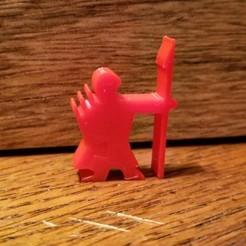 Download free 3D printer designs Javelineer Meeple, Ellie_Valkyrie