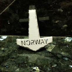 Download STL files Norway Mjolnir, Ellie_Valkyrie