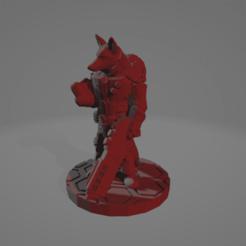Vulpine_Technician.png Télécharger fichier STL gratuit Un technicien de Kitsune pour la phase d'éclipse • Design pour impression 3D, Ellie_Valkyrie