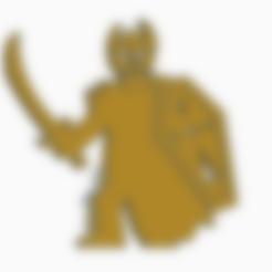 Death Knight.stl Download STL file Death Knight Meeple • 3D printable model, Ellie_Valkyrie