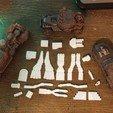 Blowers_Burners.jpg Download free STL file Gaslands Greebles (Blowers and Burners) • Design to 3D print, Ellie_Valkyrie