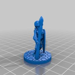 Download free 3D printer designs BONEPLATE HORRORS (Batch 1) Spear Skeleton, Ellie_Valkyrie