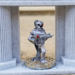 Electro-Lich Rifle Infantry.jpg Download STL file Electro-Lich Rifle Infantry • 3D printing template, Ellie_Valkyrie