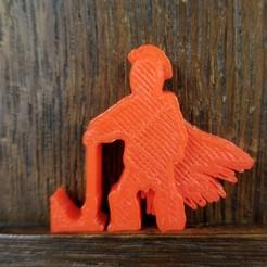 Barbarian Axe At Rest.jpg Télécharger fichier STL Un barbare se repose sur sa hache • Objet à imprimer en 3D, Ellie_Valkyrie