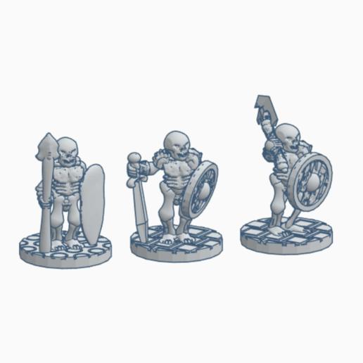 Batch 1.png Download STL file Boneplate Horrors (Batch 1) • 3D printer model, Ellie_Valkyrie