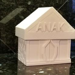 Download free 3D printing files ANAK Meeple Box, Ellie_Valkyrie