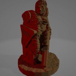 Kara Ruggarell.png Download STL file Kara Ruggarell, Wasteland Amazon (Support Free!) • 3D print template, Ellie_Valkyrie
