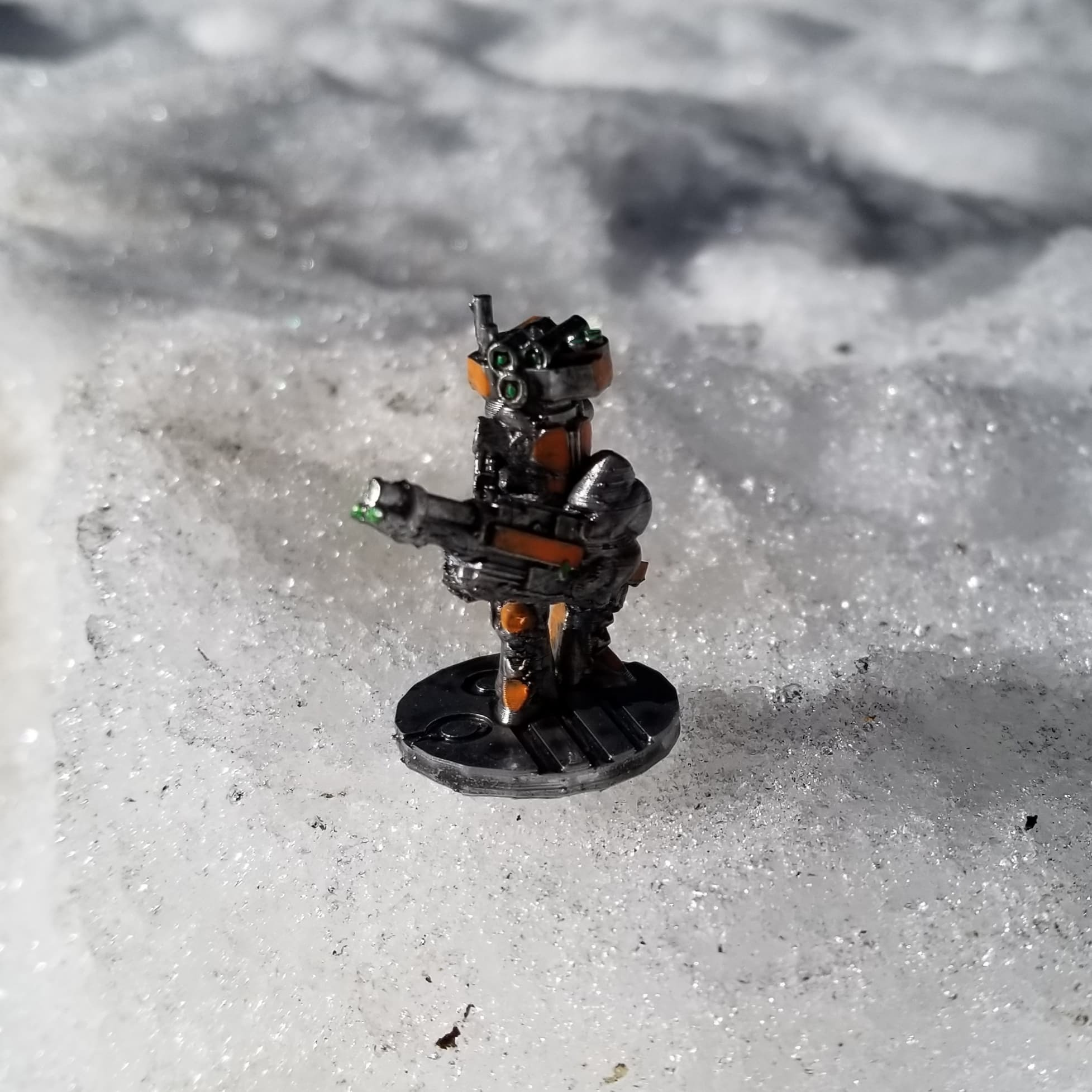 SL Robot Chaingun.jpg Download STL file Support-Free Chaingun Robot • 3D printer template, Ellie_Valkyrie