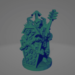 Death Knight With Spike Club.png Download STL file Death Knight With Spiked Club • 3D printing object, Ellie_Valkyrie