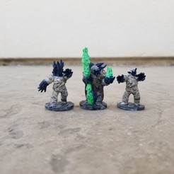 20201018_151831.jpg Download STL file Worm Mummy Soul Summoner And Guards • 3D printer object, Ellie_Valkyrie