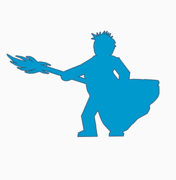 Nasty Spear Shorthair.png Download STL file Nasty-Spear Shorthair Meeple • 3D printer template, Ellie_Valkyrie