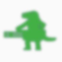 Reptilian Chaingun.stl Download STL file Reptilian Chaingunner Meeple • 3D printable object, Ellie_Valkyrie