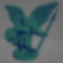 Spear Shield Valkyrie.stl Download STL file Valkyrie With Spear • 3D printing model, Ellie_Valkyrie