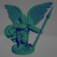 Valkyrie With Spear.png Download STL file Valkyrie With Spear • 3D printing model, Ellie_Valkyrie