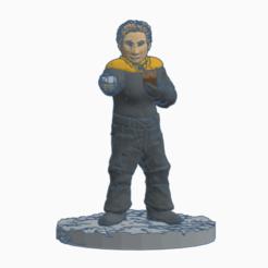 Tess_Security_Officer.png Télécharger fichier STL gratuit Femme agent de sécurité de Star Trek • Objet pour imprimante 3D, Ellie_Valkyrie