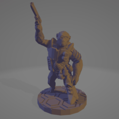 EC_Simian_Uplift.png Download free STL file Primate Morph For Eclipse Phase • Design to 3D print, Ellie_Valkyrie