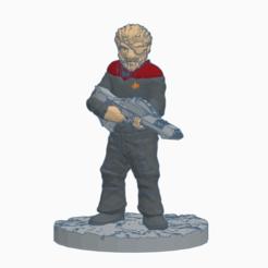 Eyepatch_Captain.png Télécharger fichier STL gratuit Capitaine de l'Eye Patch (Starfleet) • Plan pour impression 3D, Ellie_Valkyrie