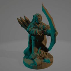 Skadi.png Download STL file Skadi • 3D printing template, Ellie_Valkyrie