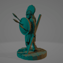 Arrow Hoplite.png Download STL file Kynthia Of The High Mountain • 3D printable template, Ellie_Valkyrie
