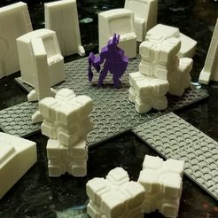 Modular_Tech.jpg Download free STL file Modular Futuristic Tiles (Remixed for Meepleverse) • 3D printer design, Ellie_Valkyrie