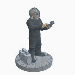 SFCardietech.png Download free STL file Cardassian Federation Technician • 3D print model, Ellie_Valkyrie