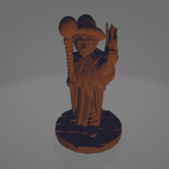 Bella Infernus, Fire Witch.png Download STL file Bella Infernus, Fire Witch • 3D printable model, Ellie_Valkyrie
