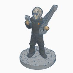 SFCardieAway.png Download free STL file Cardassian Federation Away Team Officer • 3D print design, Ellie_Valkyrie