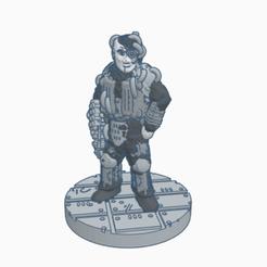 BorgDrone.png Download free STL file Supportless Borg Drone • 3D printer design, Ellie_Valkyrie