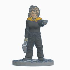 Amazon_Officer_Case_Phaser.png Download free STL file Away Team Engineer (Star Trek) • 3D printer template, Ellie_Valkyrie