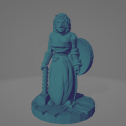 Maul Maiden.png Download STL file Support-Free Maul Maiden • Design to 3D print, Ellie_Valkyrie
