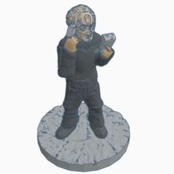 SFCardieScience.png Télécharger fichier STL gratuit Officier scientifique de la Fédération cardassienne • Design pour imprimante 3D, Ellie_Valkyrie