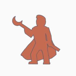 Pompadour Moonstaff Wizard.png Télécharger fichier STL Le magicien de la lune de Pompadour • Plan pour impression 3D, Ellie_Valkyrie