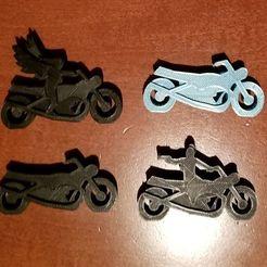 Bikes.jpg Télécharger fichier STL gratuit Moto Meeples • Plan imprimable en 3D, Ellie_Valkyrie